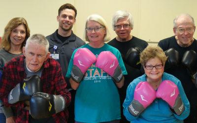 Parkinson's Boxing Class